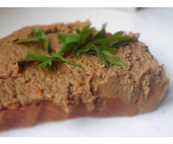 Рецепт                  Печеночный паштет с мясом
