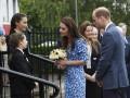Принц Уильям помог упавшему пожилому офицеру