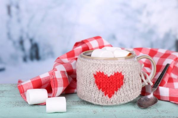 Рецепт                  Рецепты на День Валентина: Горячий шоколад с зефиром