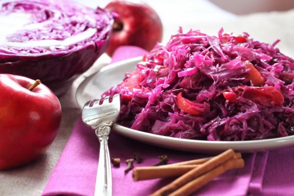 Рецепт                  Октоберфест 2014: Тушеная капуста с яблоками