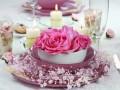 Свадебная сервировка в розовых тонах: ТОП-15 праздничных идей