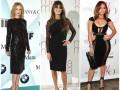 Итоги 2015 года : ТОП-25 нарядов звезд в черных платьях