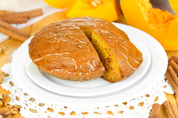 Рецепт                  Тыквенный кекс с вяленой вишней