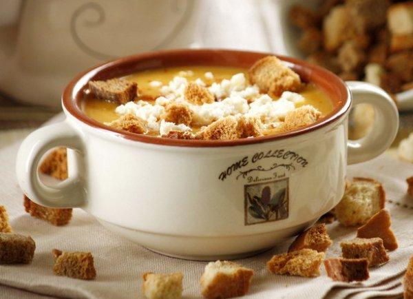 Рецепт                  Крем-суп из тыквы и картофеля с пряностями