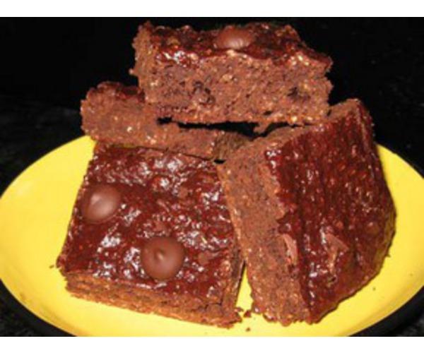 Рецепт                  Хрустящие шоколадные пирожные