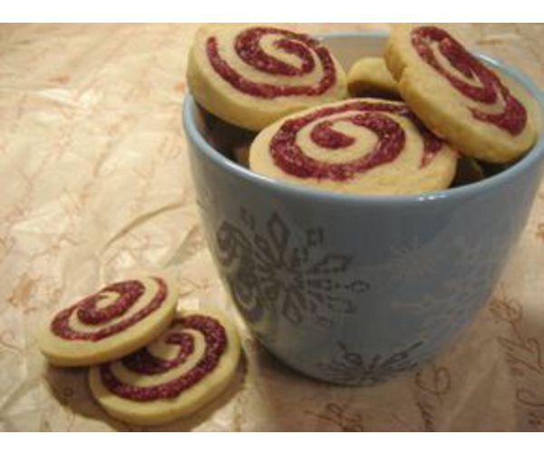 Рецепт                  Малиновое печенье