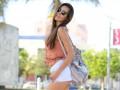 Стильные образы девушек на Неделе моды в Майами