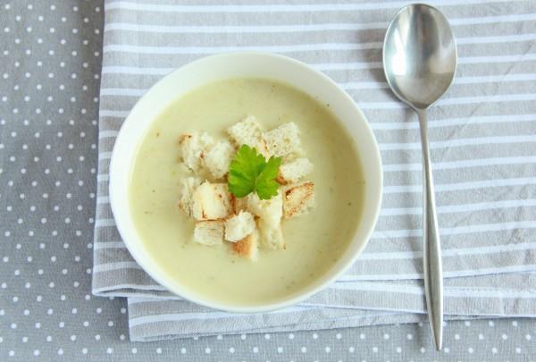 Рецепт                  Крем-суп из брокколи и цветной капусты