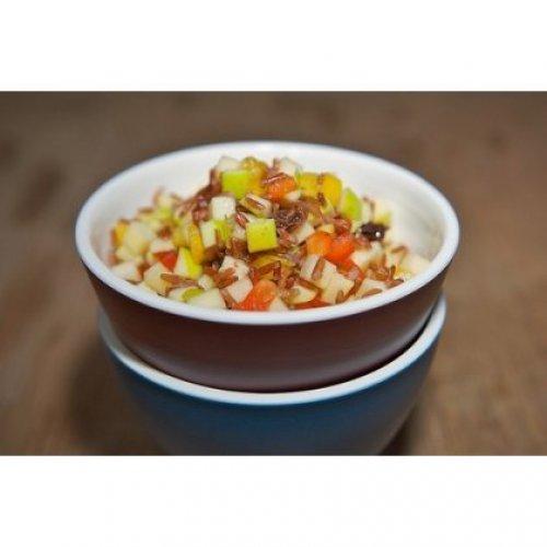 Рецепт                  Постный завтрак: Рисовая каша с фруктами