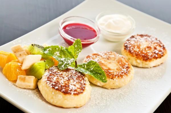 Рецепт сырники со сметаной