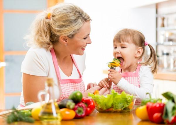 Детям необходимо кушать овощи