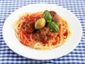 Мясные шарики с базиликом и оливками