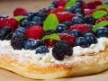 Пирог для завтрака с летними ягодами