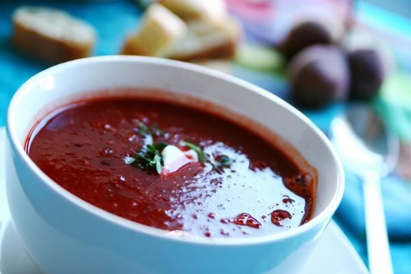 Рецепт                  Крем-суп из свеклы