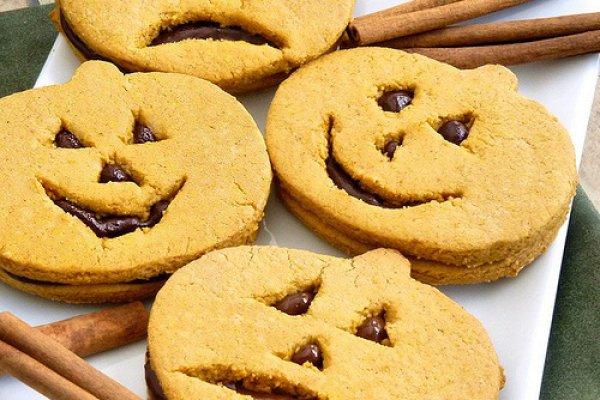 Рецепт                  Тыквенное печенье Джек-фонарь