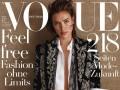 Ирина Шейк, Роузи Хантингтон-Уайтли и Эмили Ратаковски снялись для Vogue
