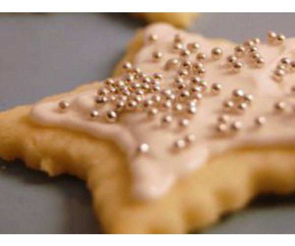 Печенье с сахарной посыпкой