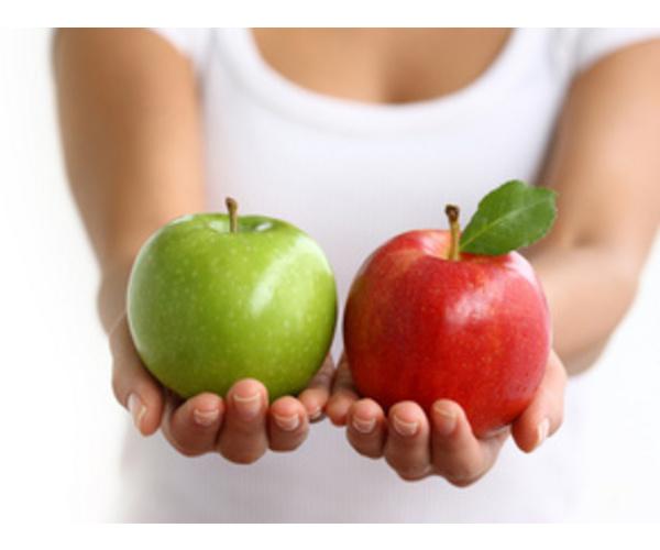 Как яблоку обрести талию?