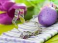 Пасхальная сервировка: ТОП-15 идей в лиловых тонах