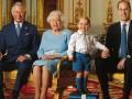 Королевская семья Англии опубликовала раритетный снимок