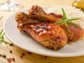 Куриные ножки в медово-соевом соусе
