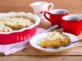 Яблочный пирог с посыпкой: три вкусные идеи