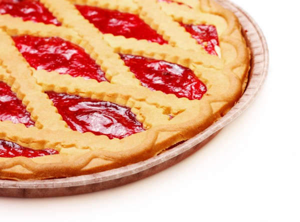 Рецепт                  Пирог с вишневым джемом