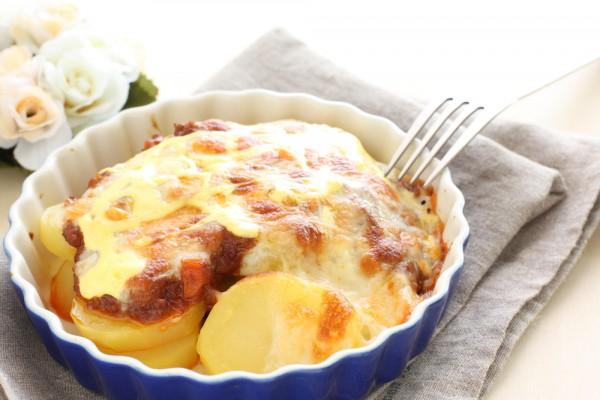 Рецепт                  Запеченный картофель по-французски