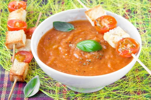Рецепт                  Суп-пюре из кабачков и помидоров