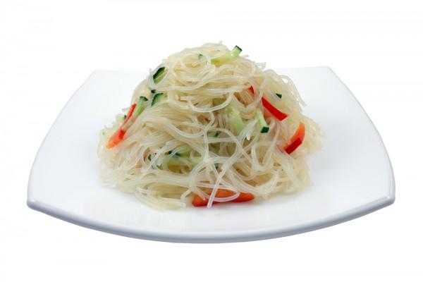 Салат фунчоза с овощами: пошаговый рецепт
