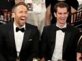 Золотой глобус 2017: поцелуй Рейнольдса и Гарфилда озадачил фанатов