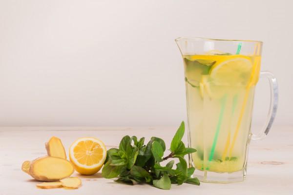 рецепт лимонада имбирного