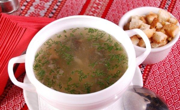 Рецепт                  Грибной суп