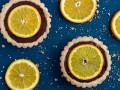 Корзинки с шоколадно-апельсиновым кремом