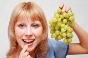 Диета на винограде