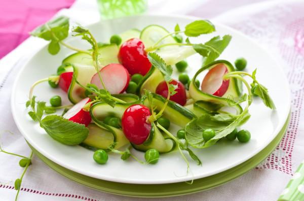 Рецепт                  Зеленый пасхальный салат