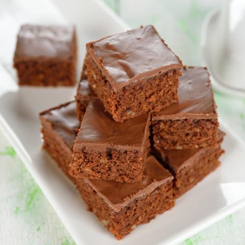 Рецепт                  Простые шоколадные пирожные