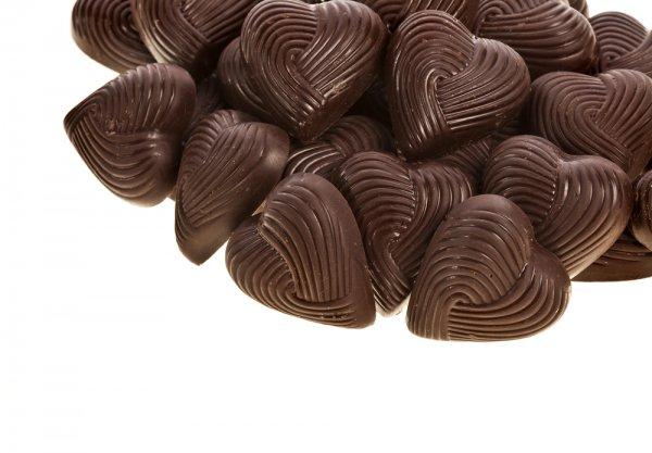 Черный шоколад очень полезен