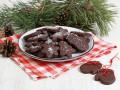 Новогоднее печенье с шоколадом
