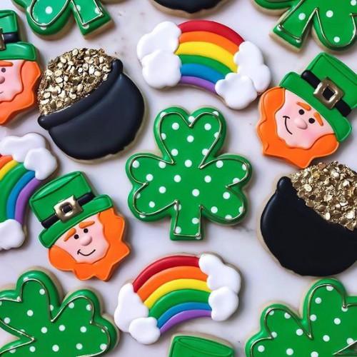 День святого Патрика 2020: Печенье Трилистник (рецепт с фото)