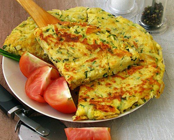 Рецепт                  Картофельная запеканка с сыром