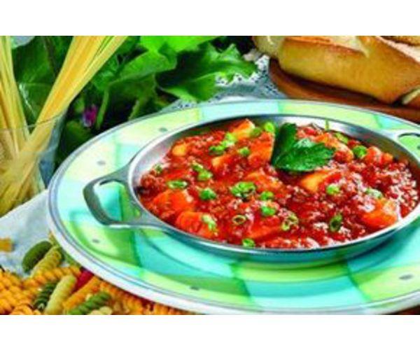 Рецепт                  Гноччи с томатным соусом