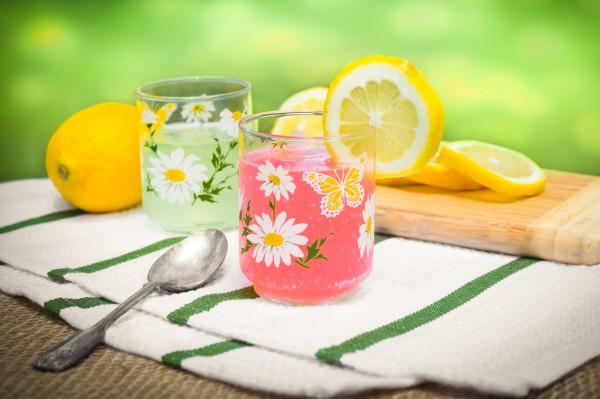 Рецепт                  Розовый лимонад