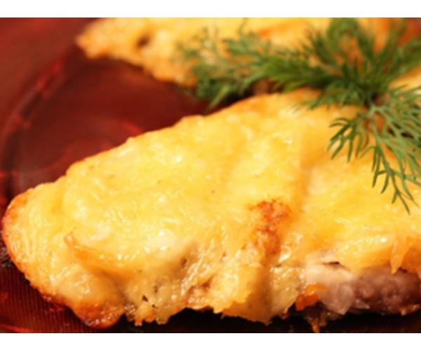 Рецепт                  Говядина с сыром и бананами