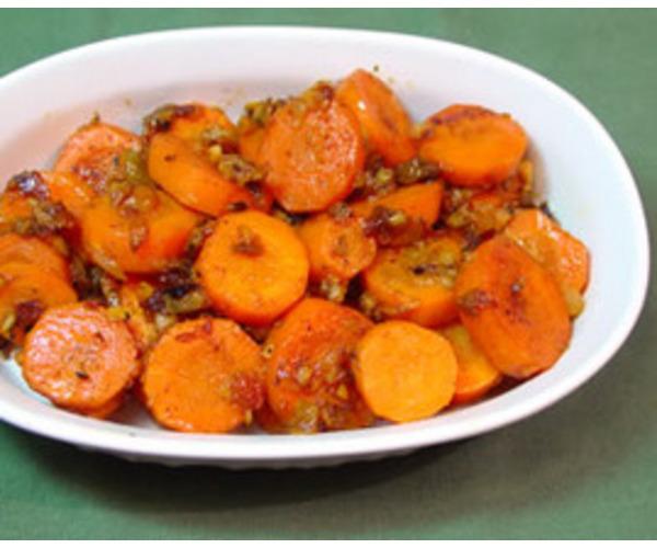 Рецепт                  Имбирная морковь