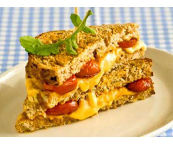 Рецепт                  Тосты с сыром и помидорами