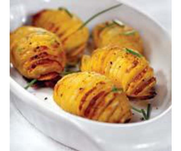 Рецепт                  Печеный картофель
