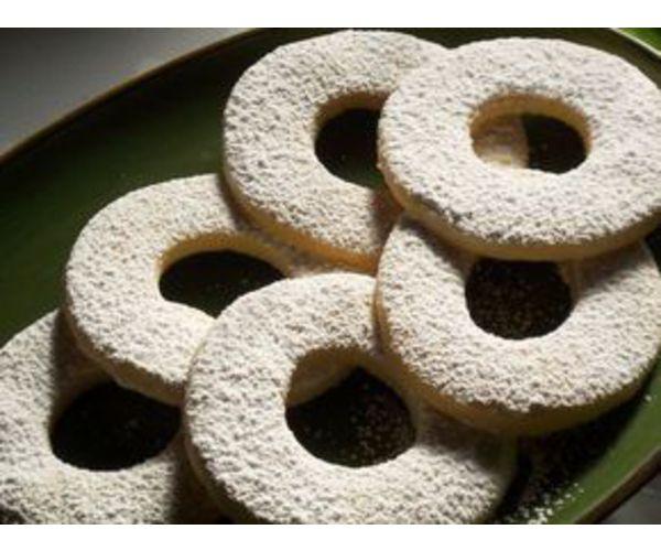 Рецепт                  Ванильное печенье