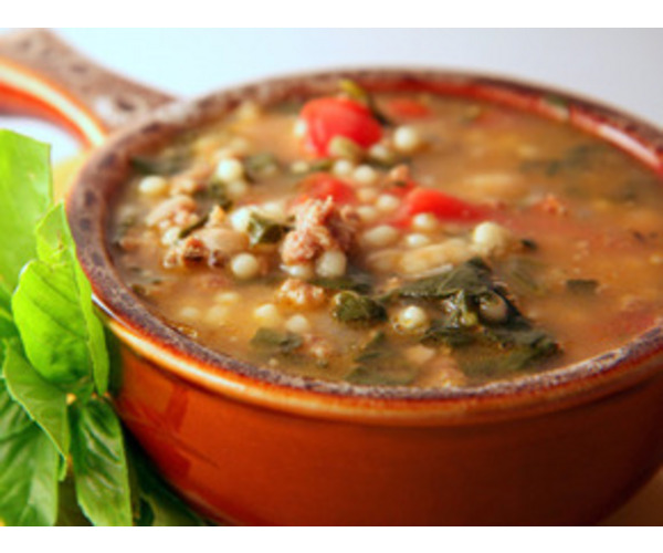 Рецепт                  Тосканский суп с фасолью и макаронами