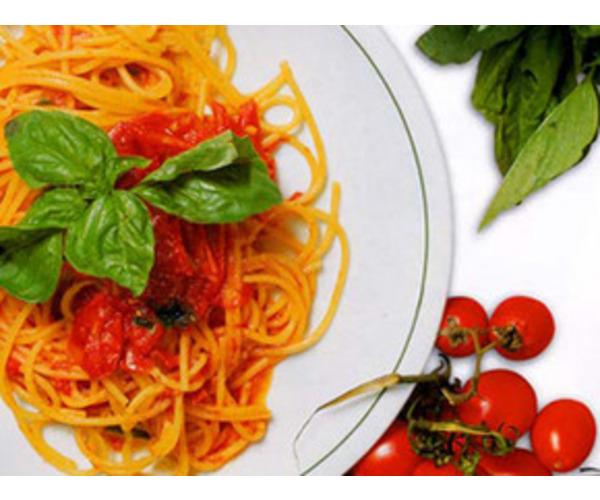 """Рецепт                  Спагетти """"Ницца"""""""